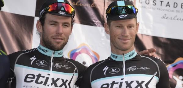 Cavendish en Renshaw lijken elkaar trouw te blijven - foto: Sirotti, archief