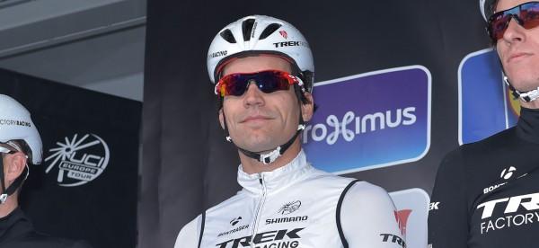 Steegmans als renner van Trek Factory Racing- Foto: Sirotti