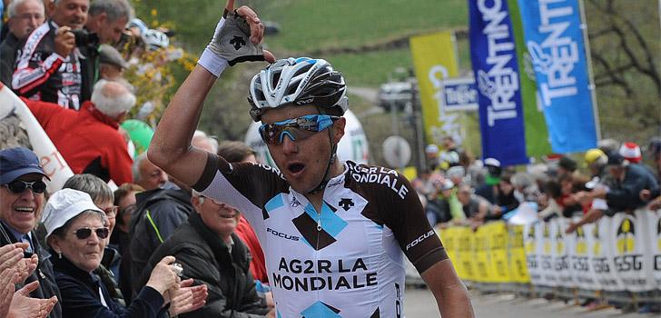 Pozzovivo is in vorm, getuige zijn ritwinst in de Giro del Trentino-Melinda - Foto: Sirotti
