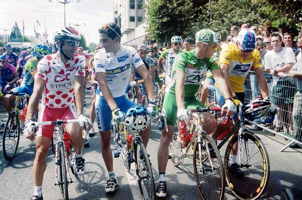 2001, Tour de France, tappa 20 Corbeil Essones - Paris, Us Postal Service, Csc - Tiscali, Kelme - Costa Blanca, Credit Agricole, Armstrong Lance, Jalabert Laurent, Sevilla Ribera Oscar, O'Grady Stuart, Corbeil Essones