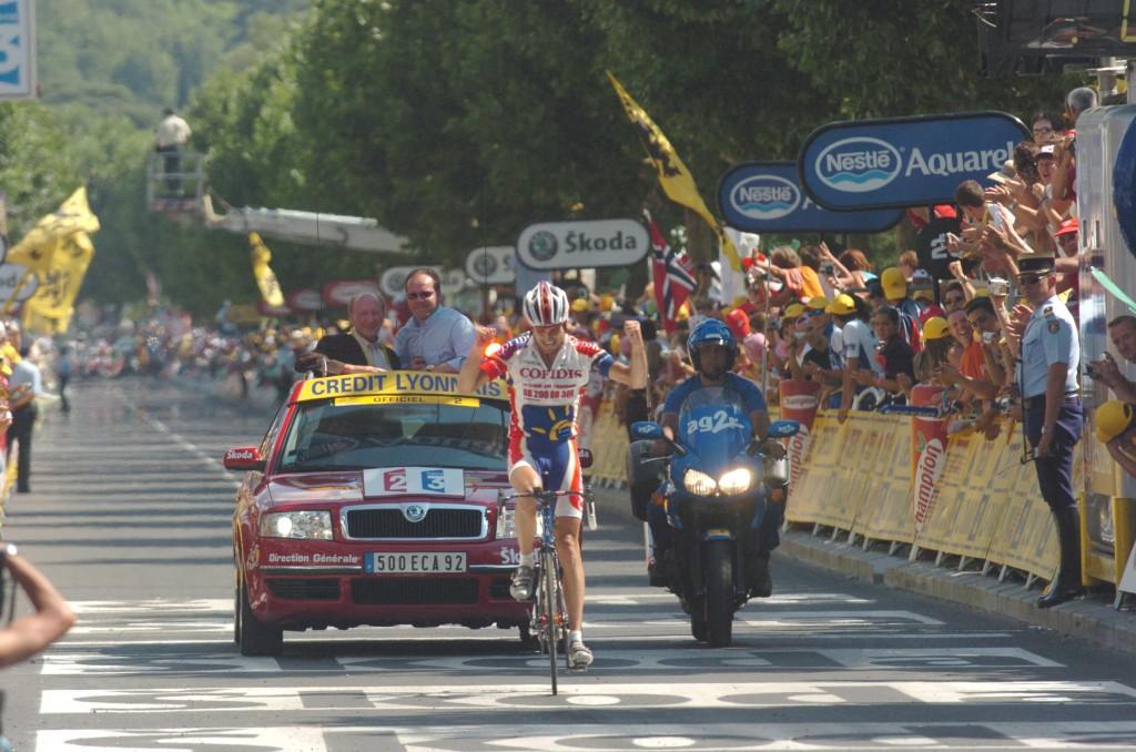 2005, Tour de France, tappa 12 Brian