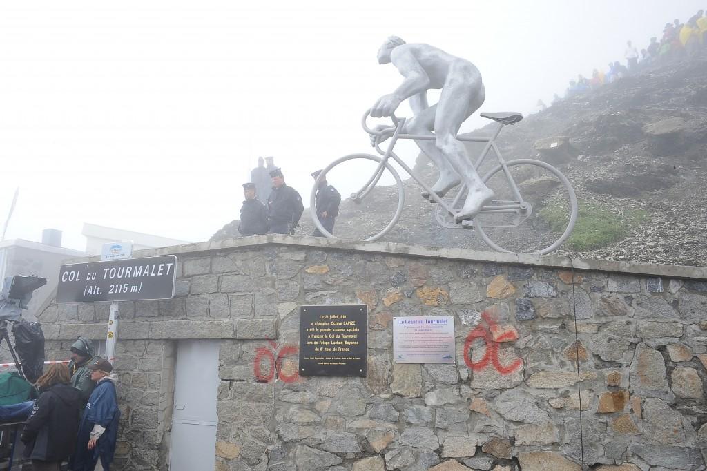2010, Tour de France, tappa 17 Pau - Col du Tourmalet, Lapize Octave, Tourmalet