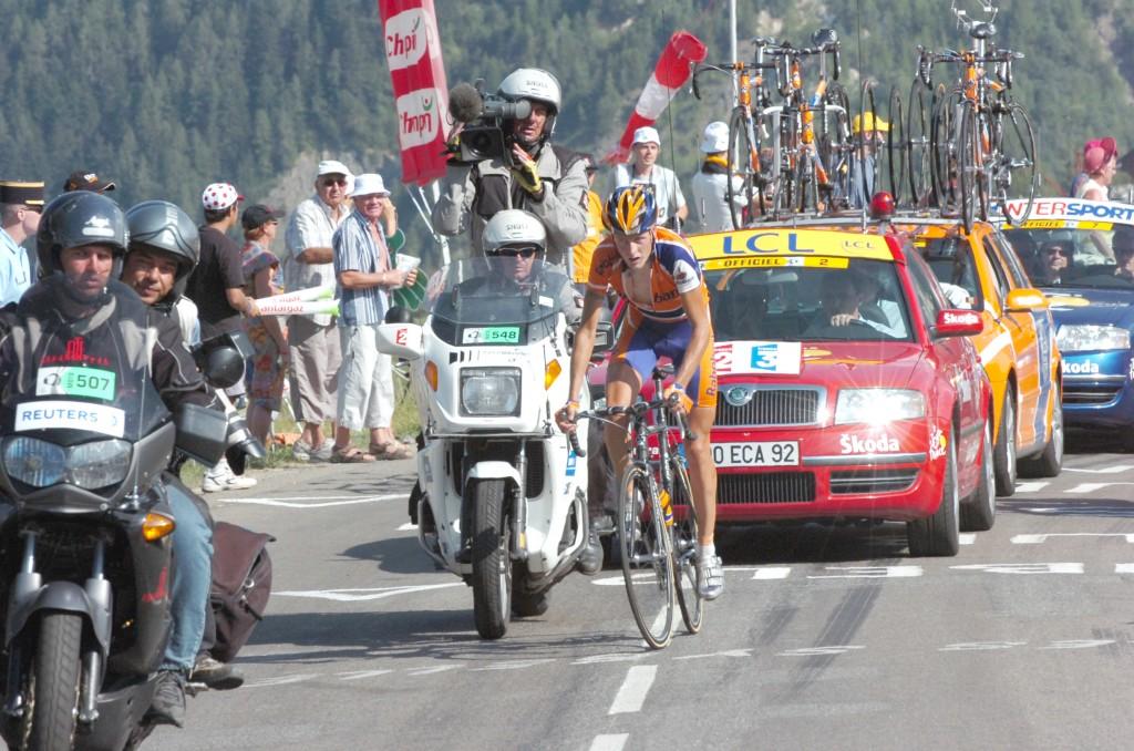 2006, Tour de France, tappa 16 Le Bourg d' Oisans - La Toussuire, Rabobank, Rasmussen Michael, La Toussuire