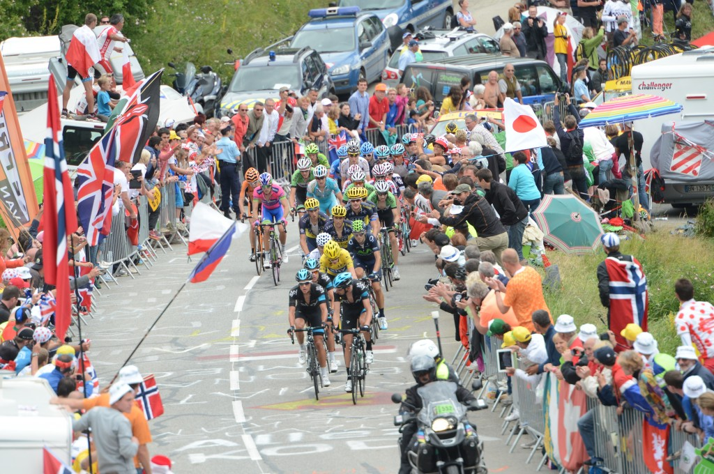 2013, Tour de France, tappa 18 Gap - L'Alpe d'Huez, Sky 2013, Froome Christopher, Lopez Garcia David, Kennaugh Peter, L'Alpe d'Huez