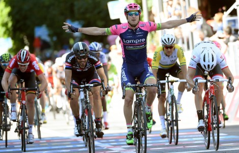 Modolo won dit jaar de 17e etappe in de Giro (foto: Sirotti)
