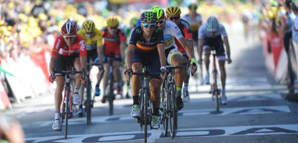 2015, Tour de France, tappa 08 Rennes - Mur de Bretagne, Movistar 2015, Valverde Alejandro, Mur de Bretagne