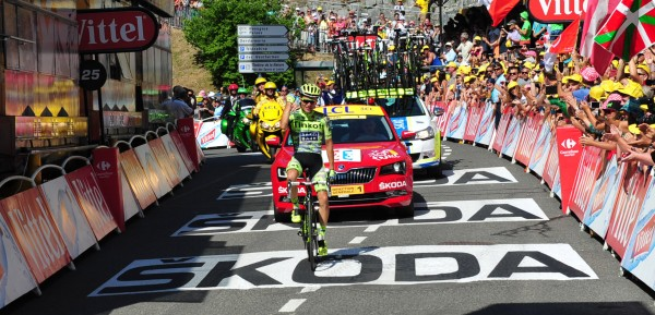 Rafal Majka wint in Cauterets - foto: Sirotti