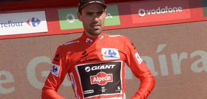 Vuelta 2015: Dumoulin berust in verloren rode trui | WielerFlits