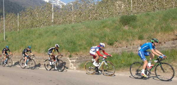 Giulio Ciccone leidt de dans in de Ronde van Trentino 2015 - Foto: Sirotti