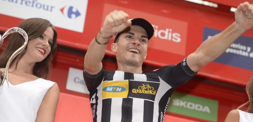 2015, Vuelta a Espana, tappa 10 Valencia - Castellon, Mtn - Qhubeka 2015, Sbaragli Kristian, Castellon
