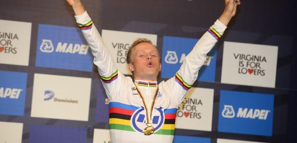Würtz Schmidt is wereldkampioen bij de beloften - foto: Sirotti