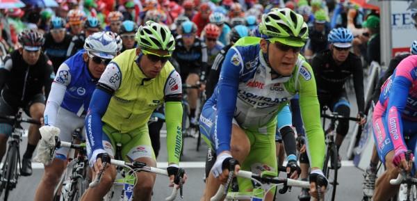 Bij Liquigas kwam hij bij Peter Sagan in de ploeg - foto: Sirotti