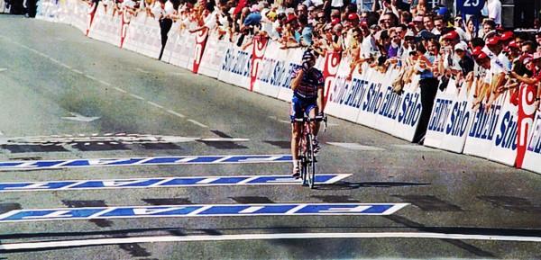 Een tweede plaats in Pau in zijn allereerste Tour de France - foto: Sirotti