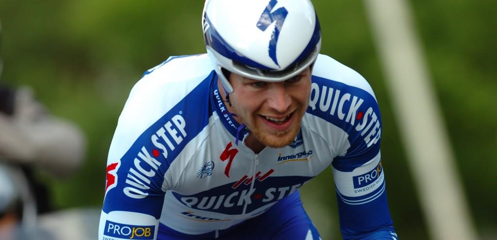 Sébastien Rosseler op zijn favoriete, en meest succesvolle onderdeel: tijdrijden (foto: Sirotti)