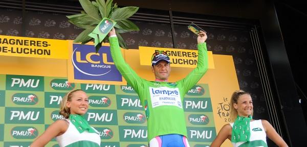 Petacchi wint de groene trui in de Tour van 2010- Foto: Sirotti