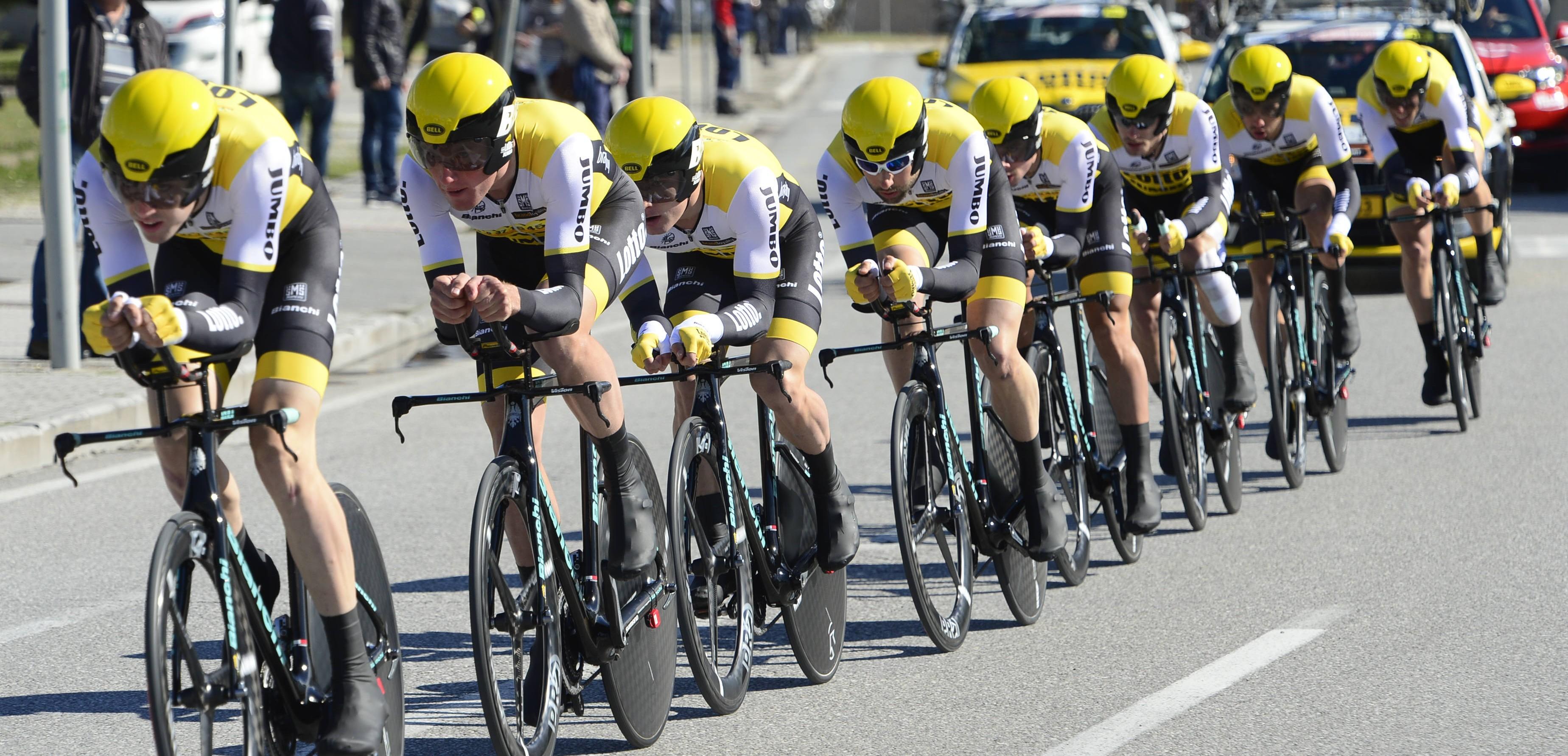 09-03-2016 Tirreno - Adriatico; Tappa 01 Lido Di Camaiore - Lido Di Camaiore; 2016, Lotto Nl - Jumbo; Lido Di Camaiore;