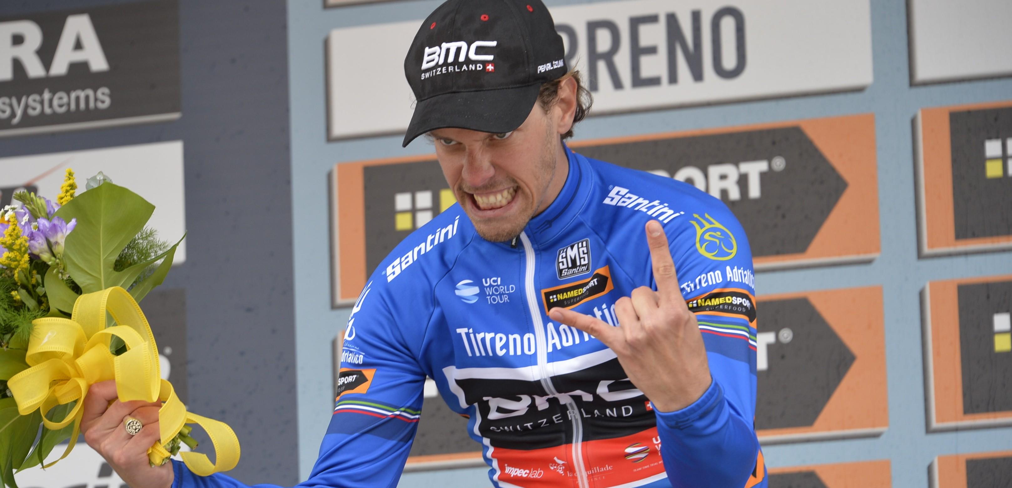 09-03-2016 Tirreno - Adriatico; Tappa 01 Lido Di Camaiore - Lido Di Camaiore; 2016, Bmc; Oss, Daniel; Lido Di Camaiore;