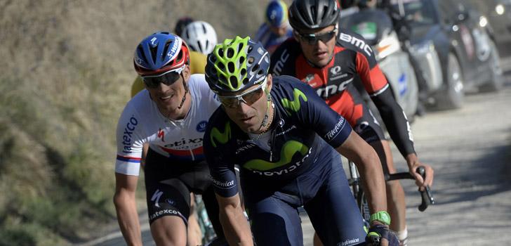 Stybar, Valverde en Van Avermaet behoren dit jaar opnieuw tot de favorieten in Strade Bianche