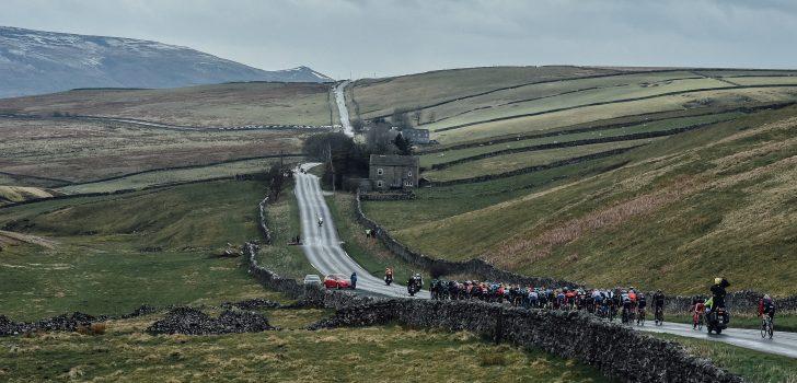 Seingever ontkomt ternauwernood aan ongeluk in Tour de Yorkshire