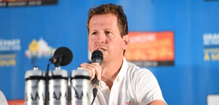 """Bahrain Merida-ploegleider Verbrugghe: """"We lijken op Quick-Step Floors"""""""