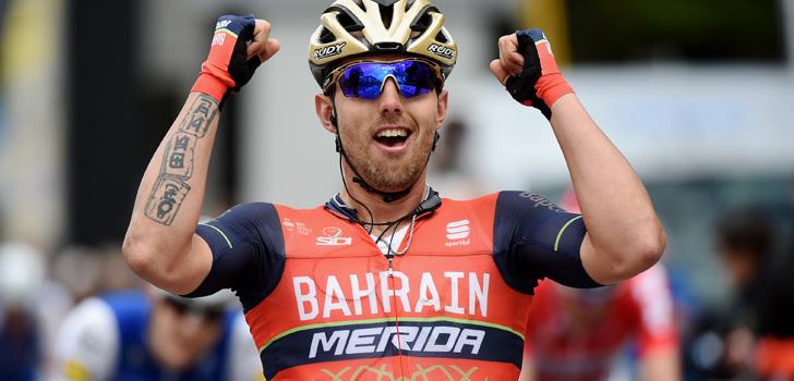 Colbrelli en Nibali leiden San Remo-dans bij Bahrain Merida