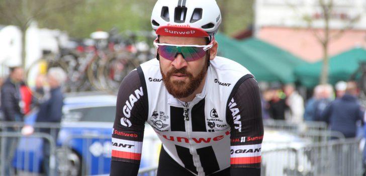 Simon Geschke enkele weken 'out' door gebroken sleutelbeen