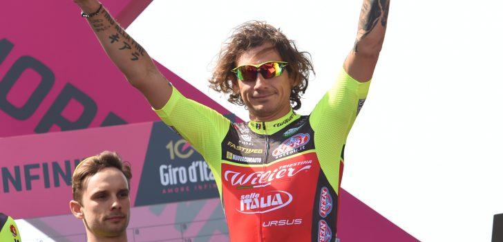 Filippo Pozzato kopman Wilier Triestina-Selle Italia in Milaan-San Remo
