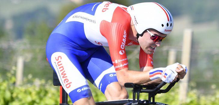 Dumoulin rijdt concurrenten voor roze Giro trui op grote