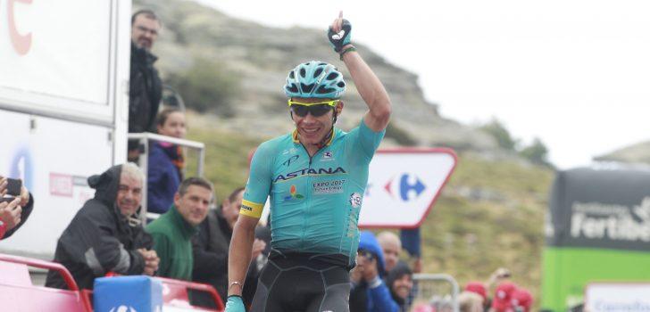 Miguel Angel Lopez wint Colombiaans duel in Vuelta a Burgos