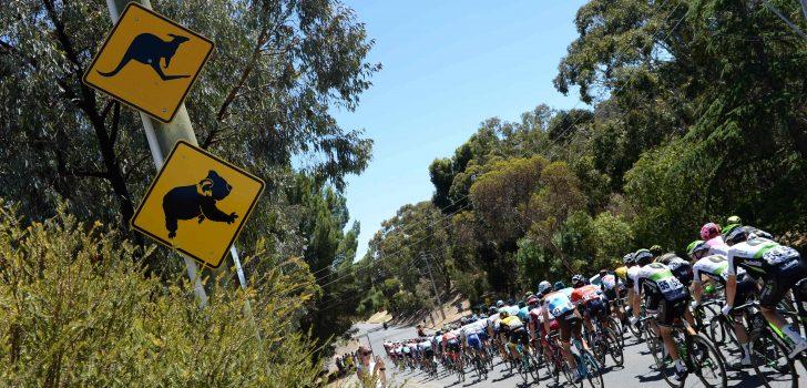 Extreme hitte zorgt voor verdeelde reacties in peloton Tour Down Under