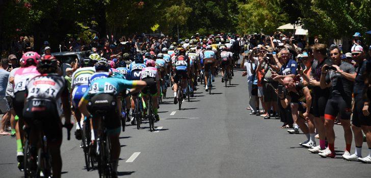 Vierde rit Tour Down Under start eerder vanwege hitte