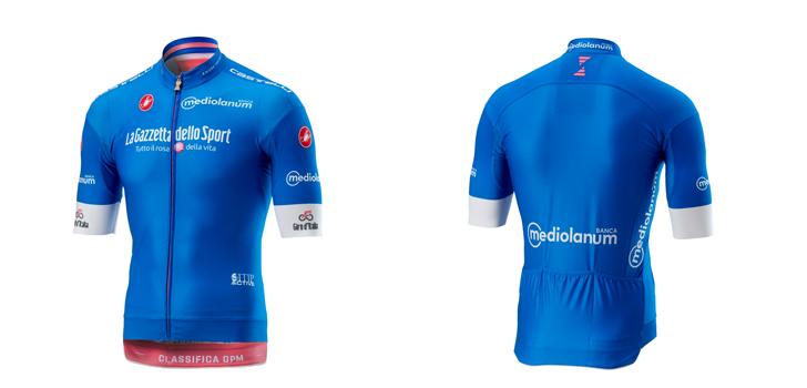 RCS en Castelli presenteren leiderstruien Giro d'Italia