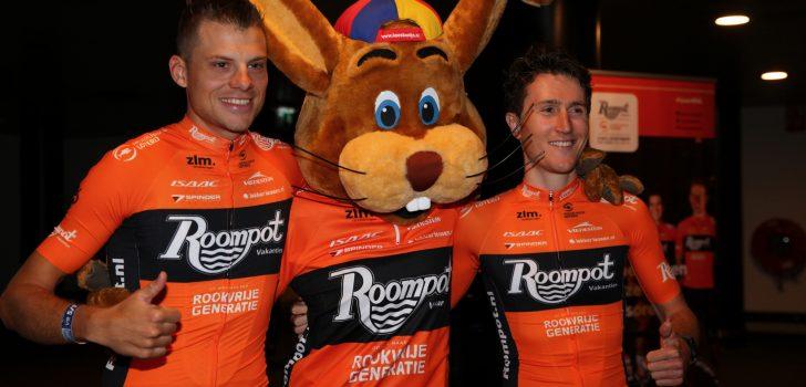 Roompot-Nederlandse Loterij aan de start van Gent-Wevelgem