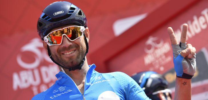 Dubbelslag Valverde op slotdag Abu Dhabi Tour, Kelderman tweede in het klassement