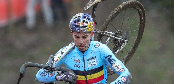 """Wout van Aert: """"Ik had niets te verliezen, dat was rustgevend"""""""
