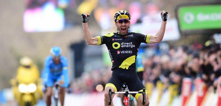 Hivert wint felbetwiste etappe in Parijs-Nice, Sánchez grijpt de macht