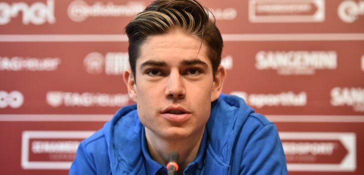 "Van Aert: ""Dacht kans te hebben in de sprint, maar Matteo en Mathieu waren sneller"""