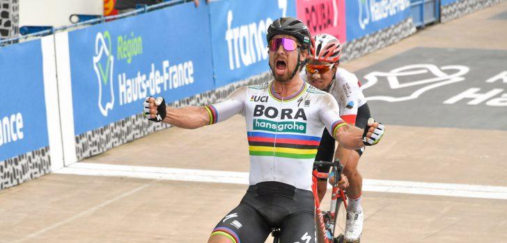 Peter Sagan verstevigt leidende positie WorldTour-stand door winst Parijs-Roubaix