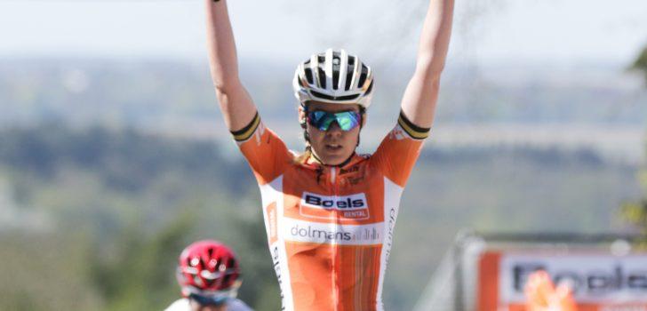 Anna van der Breggen twee jaar langer bij Boels-Dolmans