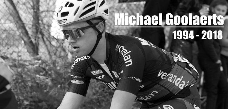 In Memoriam: Michael Goolaerts (1994-2018)