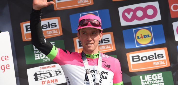 """Woods na tweede plaats in Luik-Bastenaken-Luik: """"Voel me eindelijk weer wielrenner"""""""