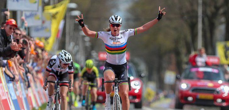 Chantal Blaak prolongeert nationale titel op de weg