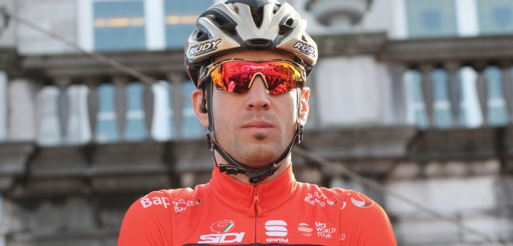 Nibali voert ijzersterk Bahrain Merida aan in Luik