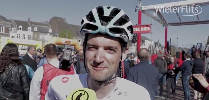 """Wout Poels over Amstel Gold Race: """"Ik ben al blij dat ik hier ben"""""""