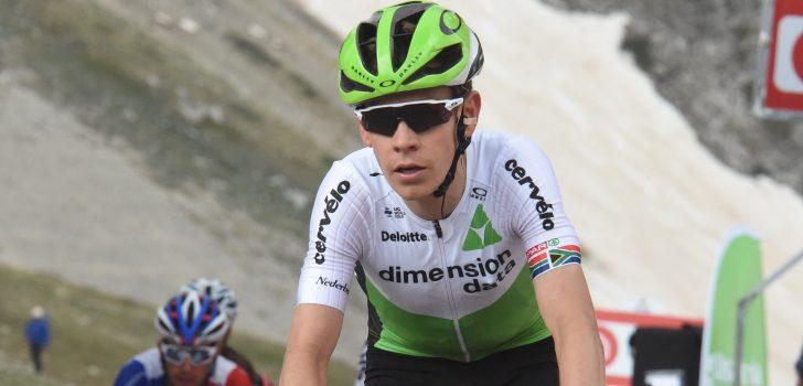 Giro 2018: Louis Meintjes geeft op met koorts