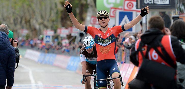 Mohoric de sterkste in openingsrit Ronde van Oostenrijk