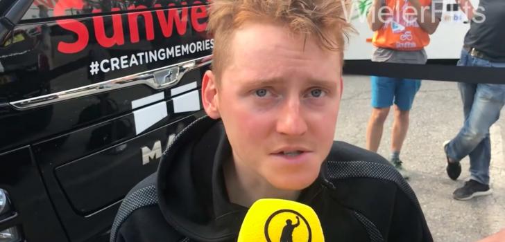 """Sam Oomen schuift top-10 in: """"Het was een gekkenhuis"""""""