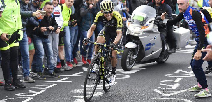 'Niet-fitte Esteban Chaves moet Vuelta laten schieten'