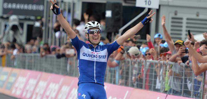 Giro 2018: Schachmann beste vluchter op Prato Nevoso, Dumoulin pakt 28 seconden