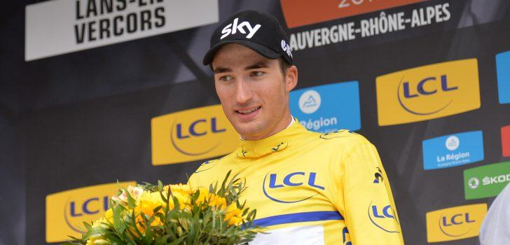 "Dauphiné-leider Moscon: ""Ik ben hier om Thomas en Kwiatkowski te helpen"""